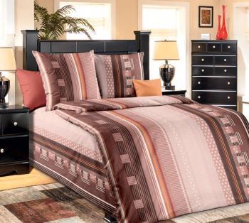"""Комплект постельного белья 1,5-спальный, бязь """"Люкс"""" (Квадро)"""