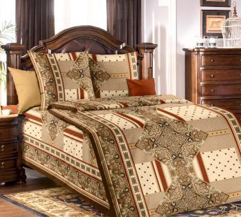 """Комплект постельного белья 1,5-спальный, бязь """"Люкс"""" (Византия)"""