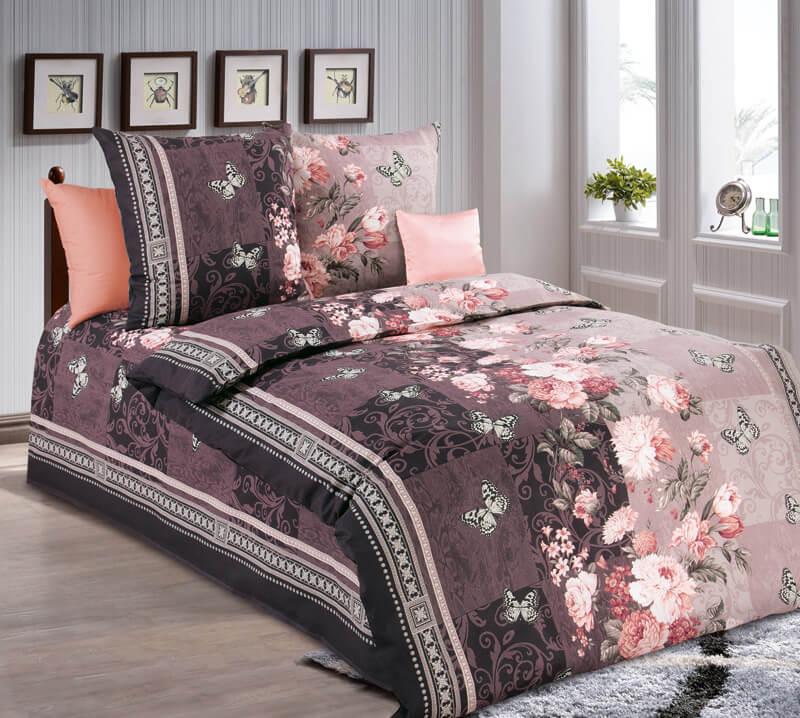 """Комплект постельного белья 1,5-спальный, бязь """"Люкс"""" (Ванесса 3D)"""