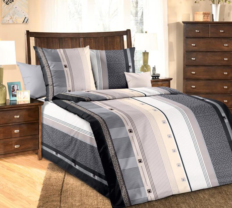 """Комплект постельного белья 1,5-спальный, бязь """"Люкс"""" (Шампань)"""