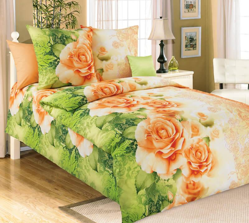 """Комплект постельного белья 1,5-спальный, бязь """"Люкс"""" (Эстель 3 D)"""