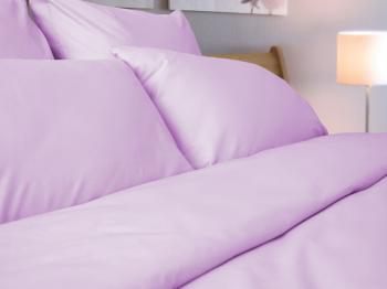Комплект постельного белья 1,5-спальный, однотонная бязь ГОСТ (Розовый цвет)