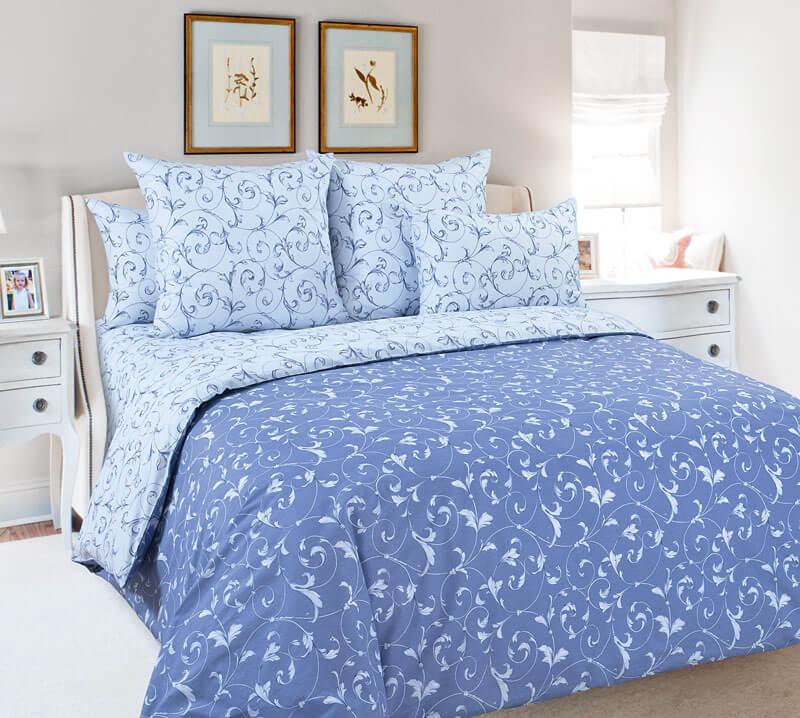 Комплект постельного белья 1,5-спальный, поплин (Габриэль)