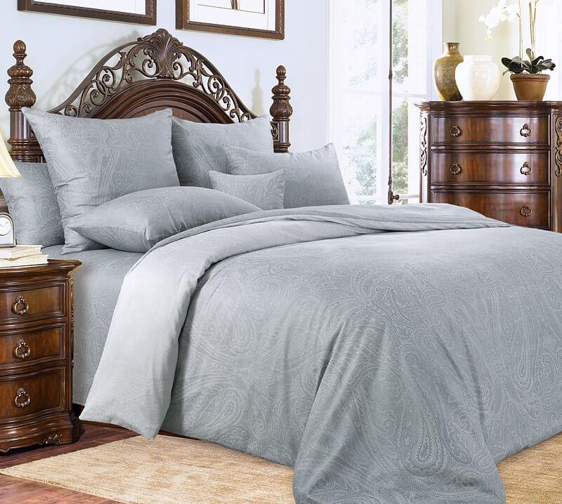 Комплект постельного белья 1,5-спальный, сатин  (Сон нимфы)