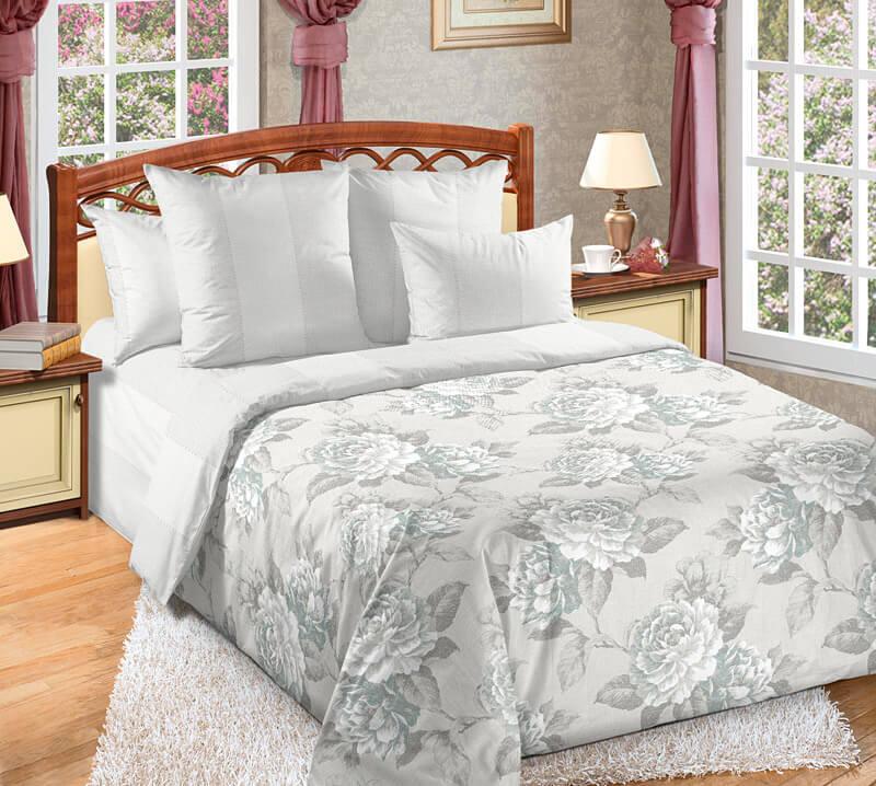 Комплект постельного белья 1,5-спальный, поплин (Мира)