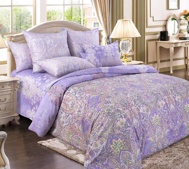 Комплект постельного белья 1,5-спальный, сатин  (Герцогиня)