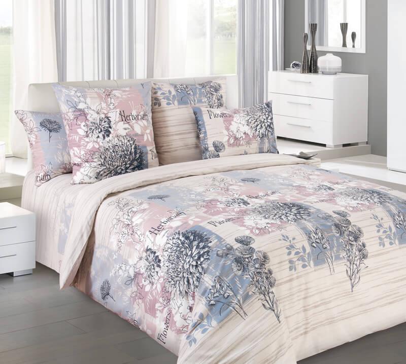 Комплект постельного белья 2-спальный, поплин (Эскиз)