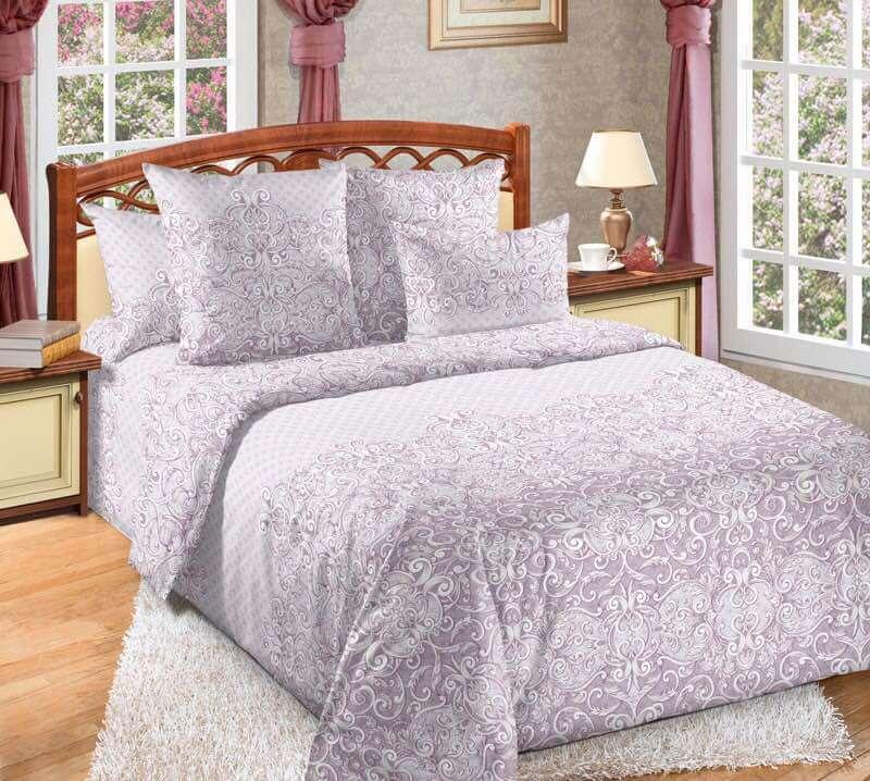 Комплект постельного белья 2-спальный, поплин (Виола)