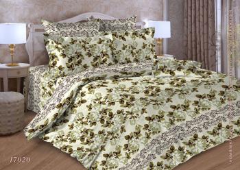 Комплект постельного белья Евростандарт, бязь  ГОСТ (Версаль)