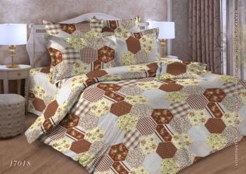 Комплект постельного белья Евростандарт, бязь  ГОСТ (Квилт)