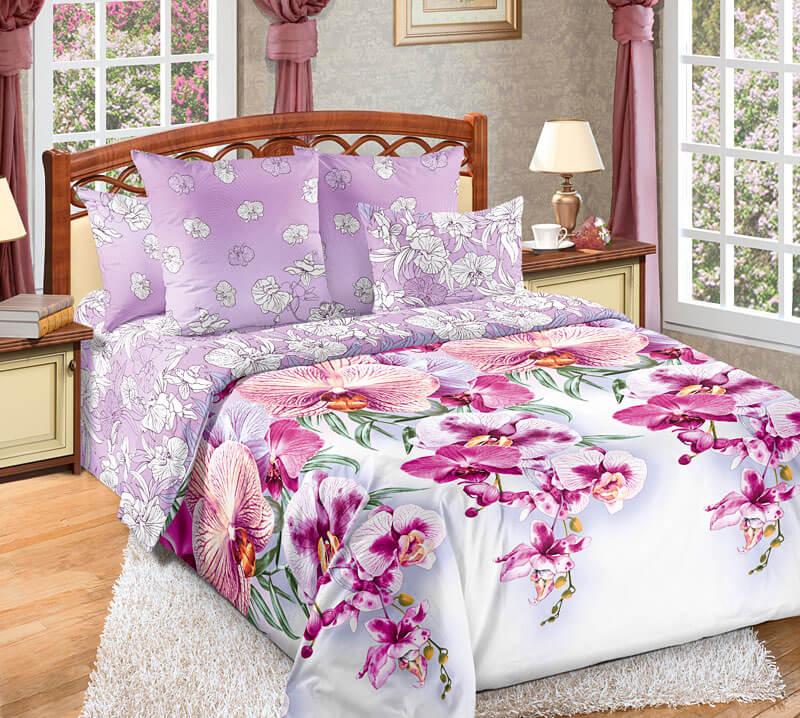 Комплект постельного белья Семейный, поплин (Мальдивы 3 D)