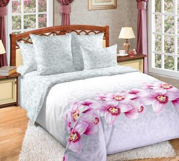 Комплект постельного белья Семейный, сатин (Аромат орхидей)