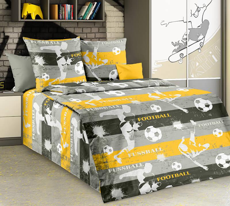 """Комплект постельного белья 1,5-спальный, бязь """"Люкс"""", детская расцветка (Реванш)"""