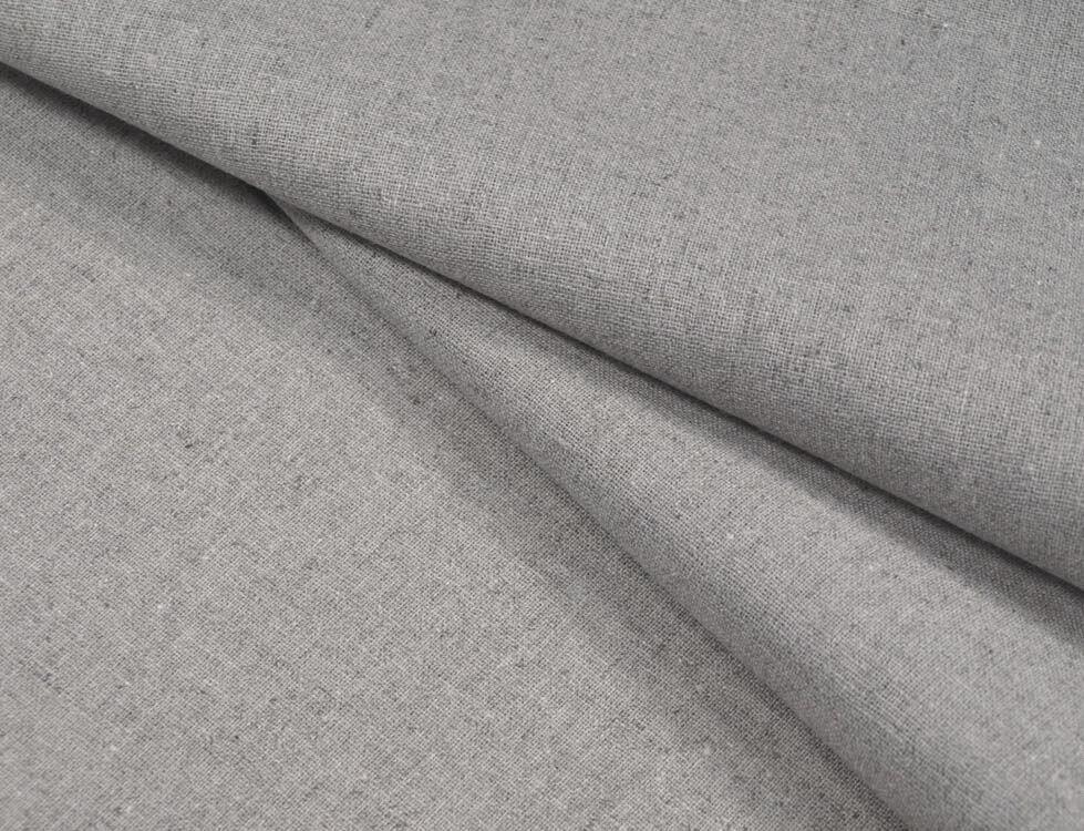 Простыня 1,5-спальная, лен 100 %, серый