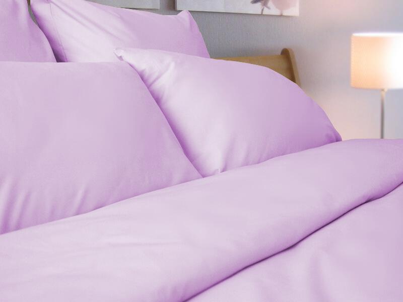 Простыня 1,5-спальная, однотонная бязь ГОСТ (Розовый цвет)