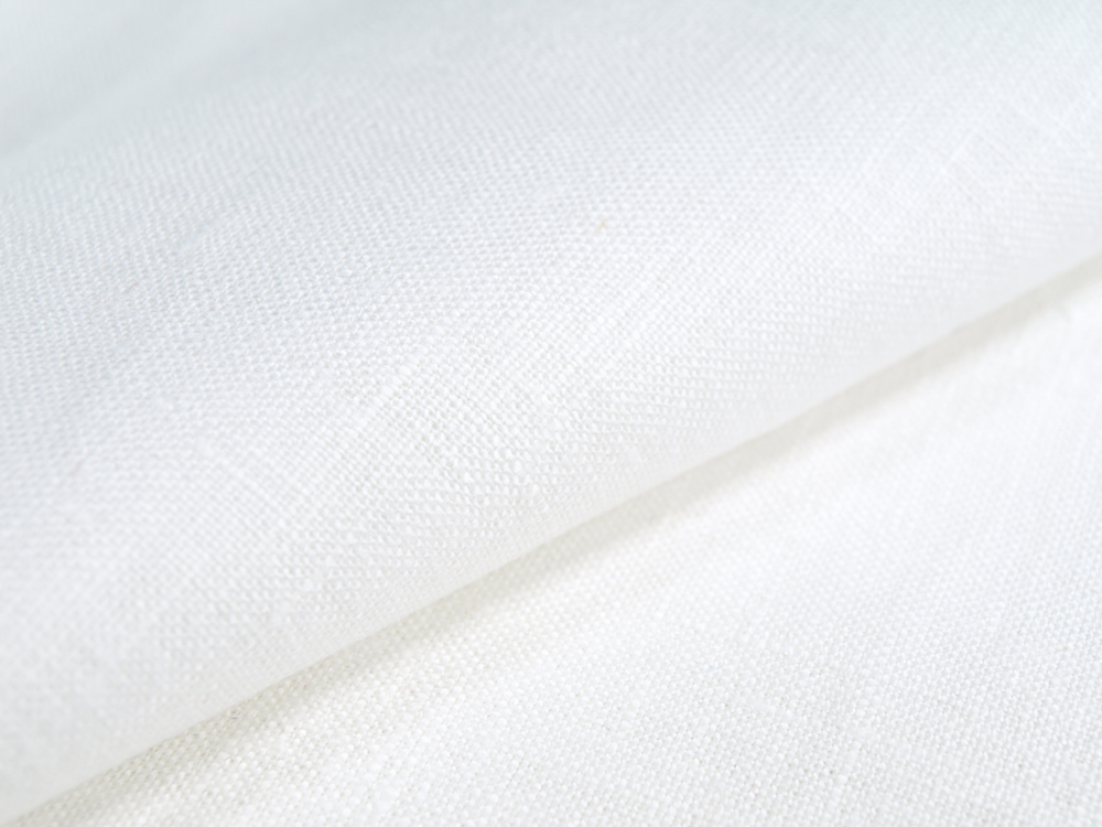 Простыня 2-спальная, лен 100 %, белый