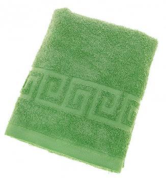 Махровое гладкокрашенное полотенце 50*90 см