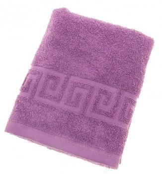 Махровое гладкокрашенное полотенце 40*70 см
