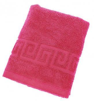 Махровое гладкокрашенное полотенце 70*140 см