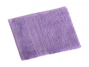 Махровое гладкокрашенное полотенце 40*70 см 460 г/м2 (Насыщенная сирень)
