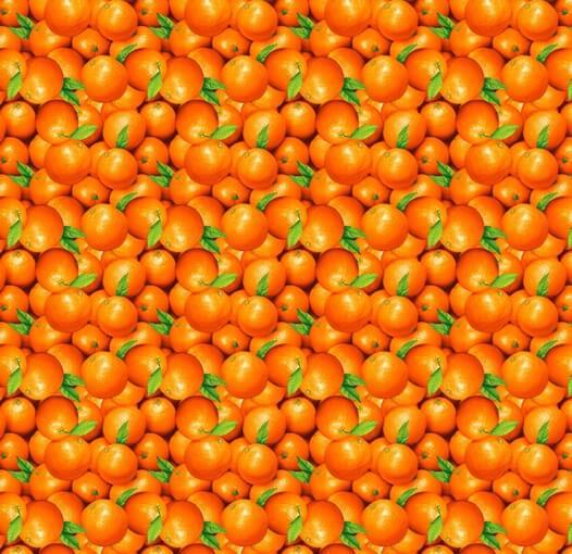 Скатерть 150*250 см, двунитка (Апельсин 3 D)