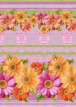 Полотенце вафельное пляжное 80*150 см (Любава, розовый)