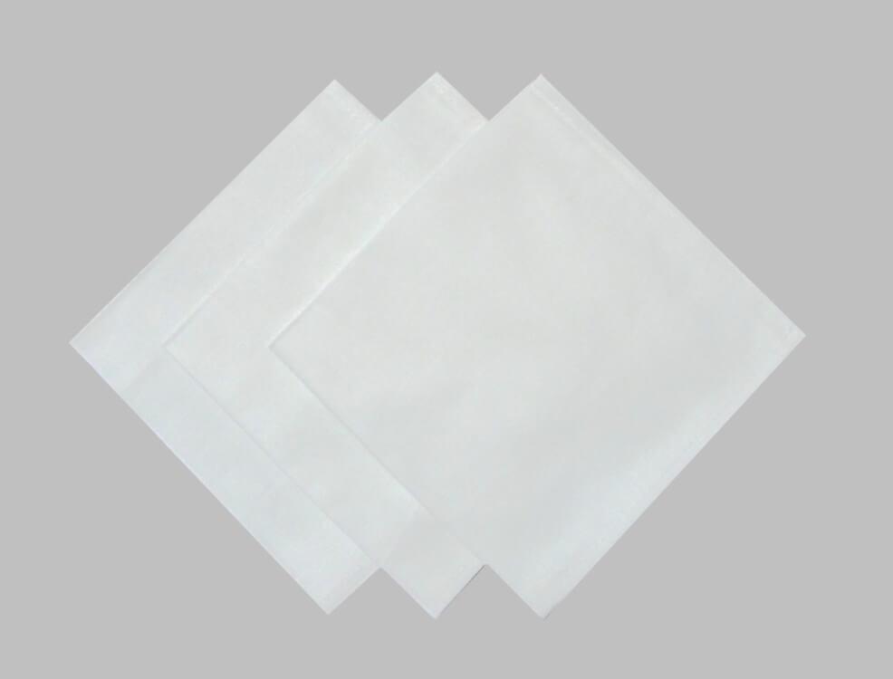 Комплект носовых платков 32*32 см, бязь отбеленная, 10 шт.