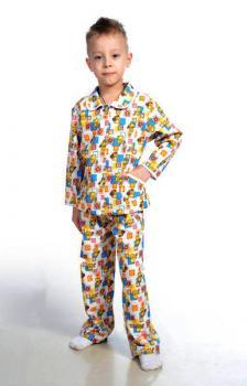 _Пижама для мальчика, модель 307, фланель