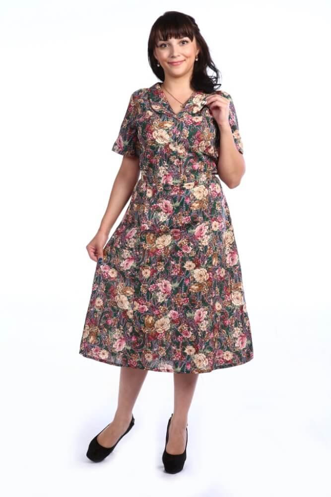 Платье женское, модель 125, бязь (Фелиция)