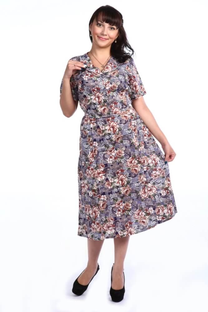 Платье женское, модель 125, бязь (Анхелика)