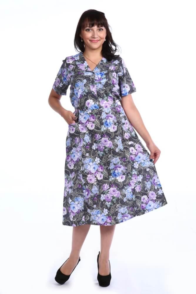 Платье женское, модель 125, бязь (Сударыня)