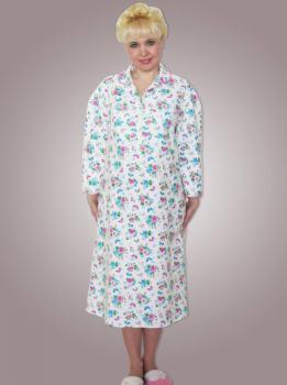 _Сорочка ночная женская,модель 411,фланель