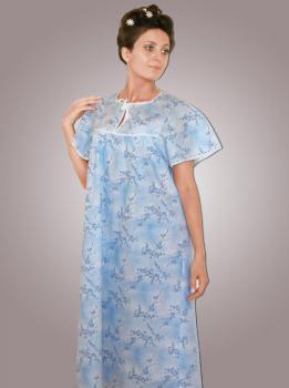 Сорочка ночная женская,модель 4012, 62-70 размер,ситец