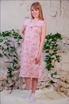 Сорочка ночная женская,модель 421,ситец