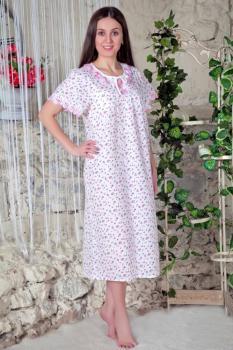 Сорочка ночная женская,модель 424, ситец