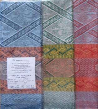 Комплект полотенец 50*80 Полулен цветной фон
