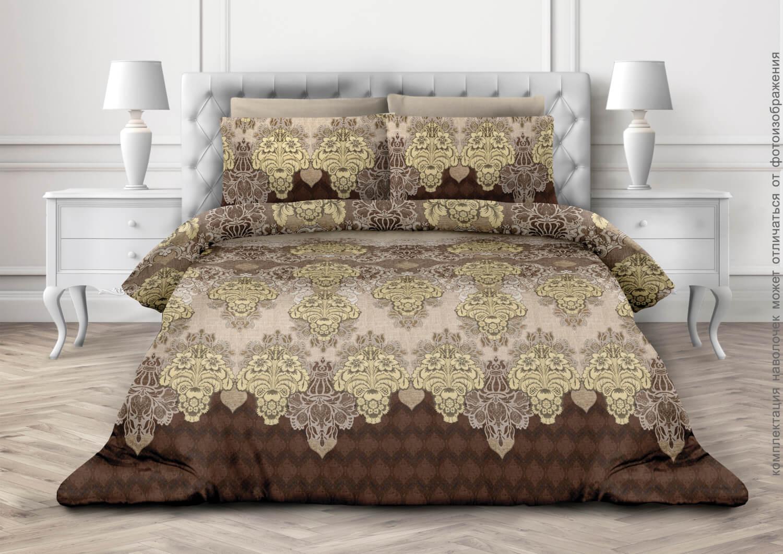 Комплект постельного белья 1,5-спальный, бязь  ГОСТ (Лувр)