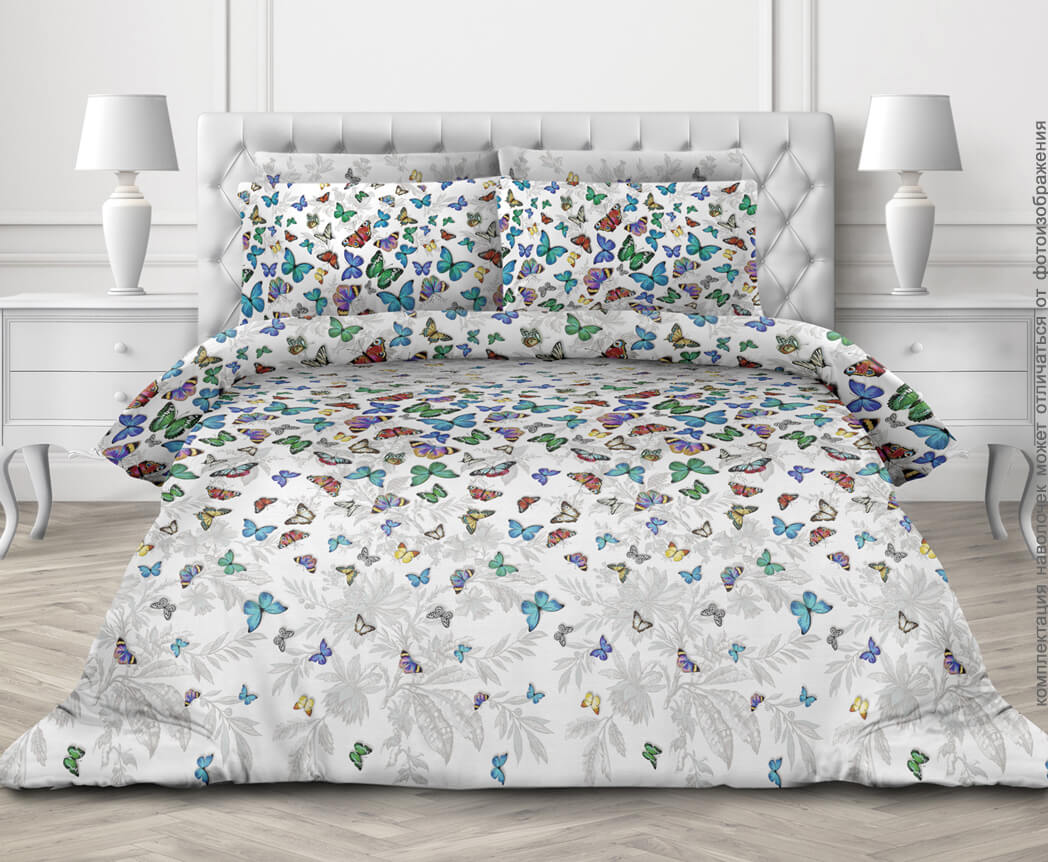 Комплект постельного белья 2-спальный, бязь  ГОСТ (Бергамо)