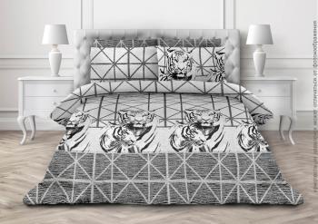 Комплект постельного белья Семейный, бязь  ГОСТ (Барсы)