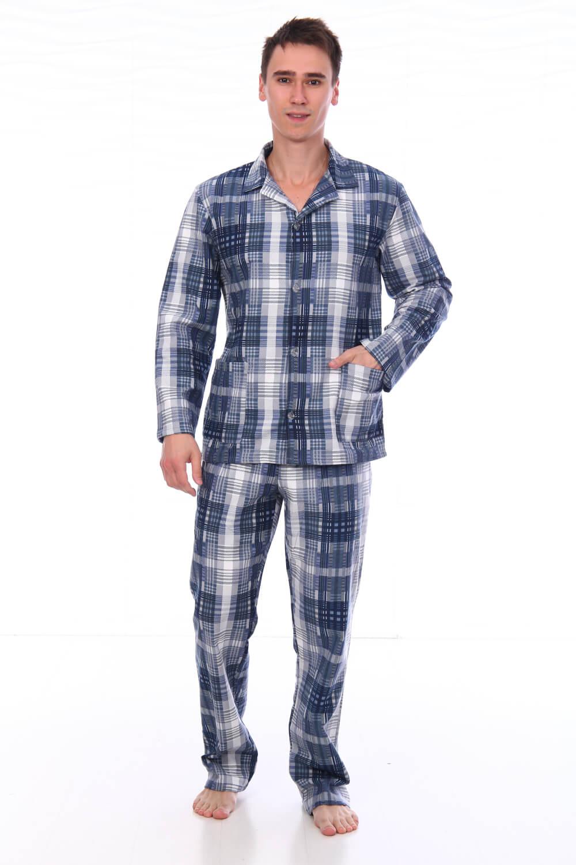 Пижама мужская,модель203,фланель (Адриано, вид 2)