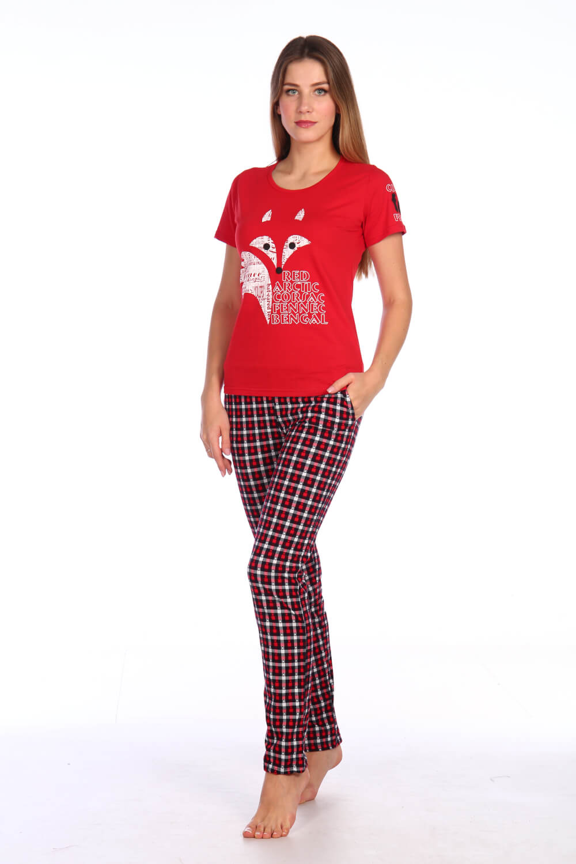Костюм женский, модель 154, трикотаж (Red Fox)