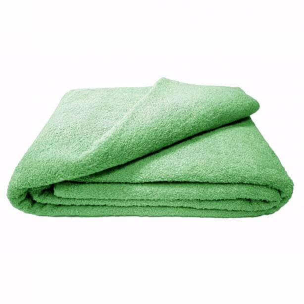 Махровая простыня 150*220 см г/кр (Молодая зелень)