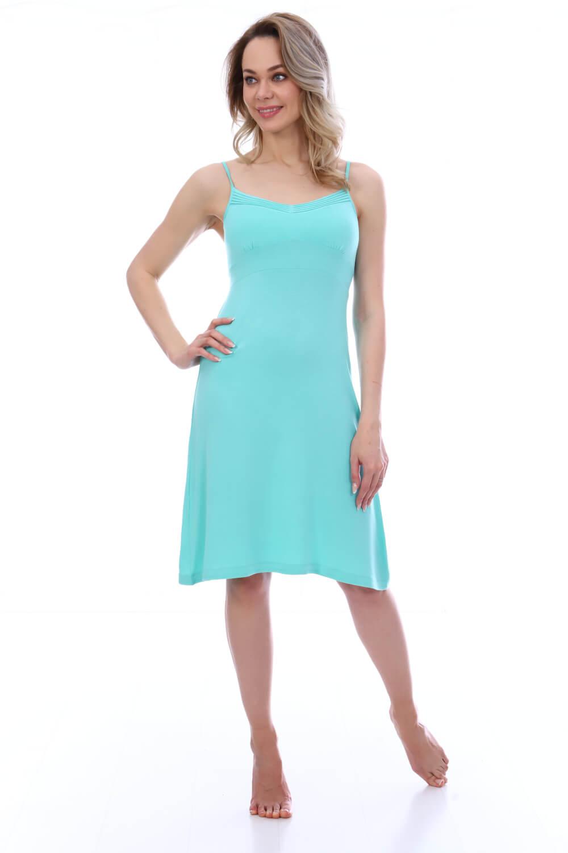 Сорочка женская, модель 19200015, трикотаж (Мятный)