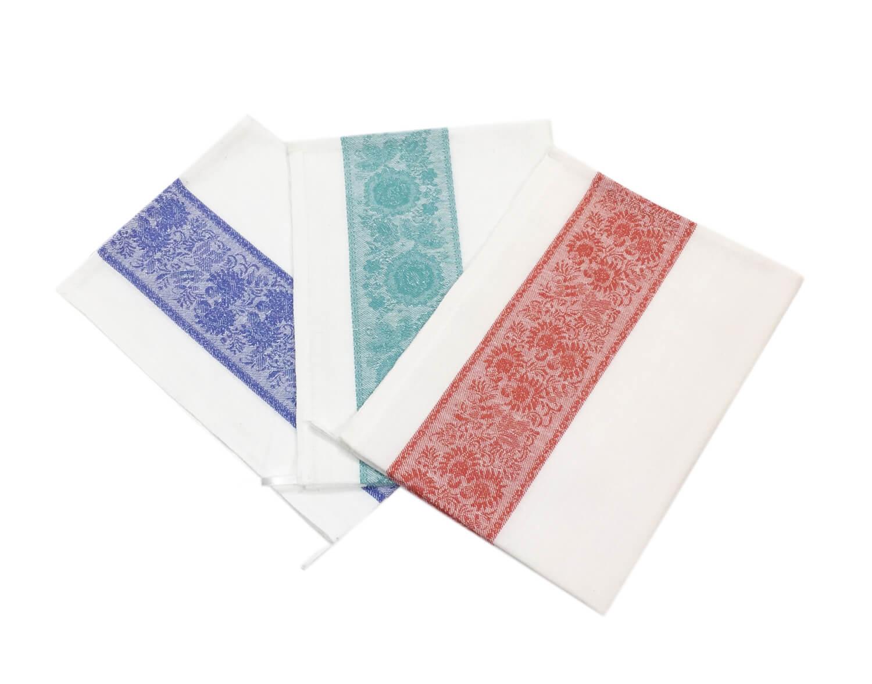 Комплект полотенец 50*70 Полулен, белый фон (Сказка)