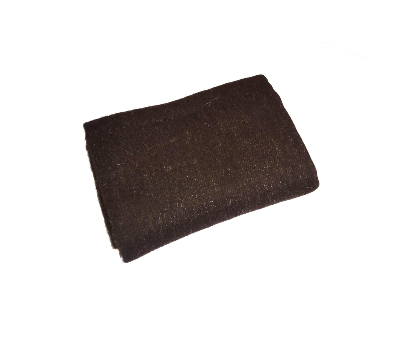 Одеяло полушерстяное 100*140см. Плотность 400 г/м2 (Горький шоколад)