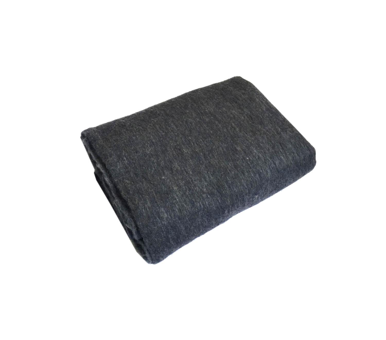 Одеяло полушерстяное 100*140см. Плотность 700 г/м2 (Серо-синий)