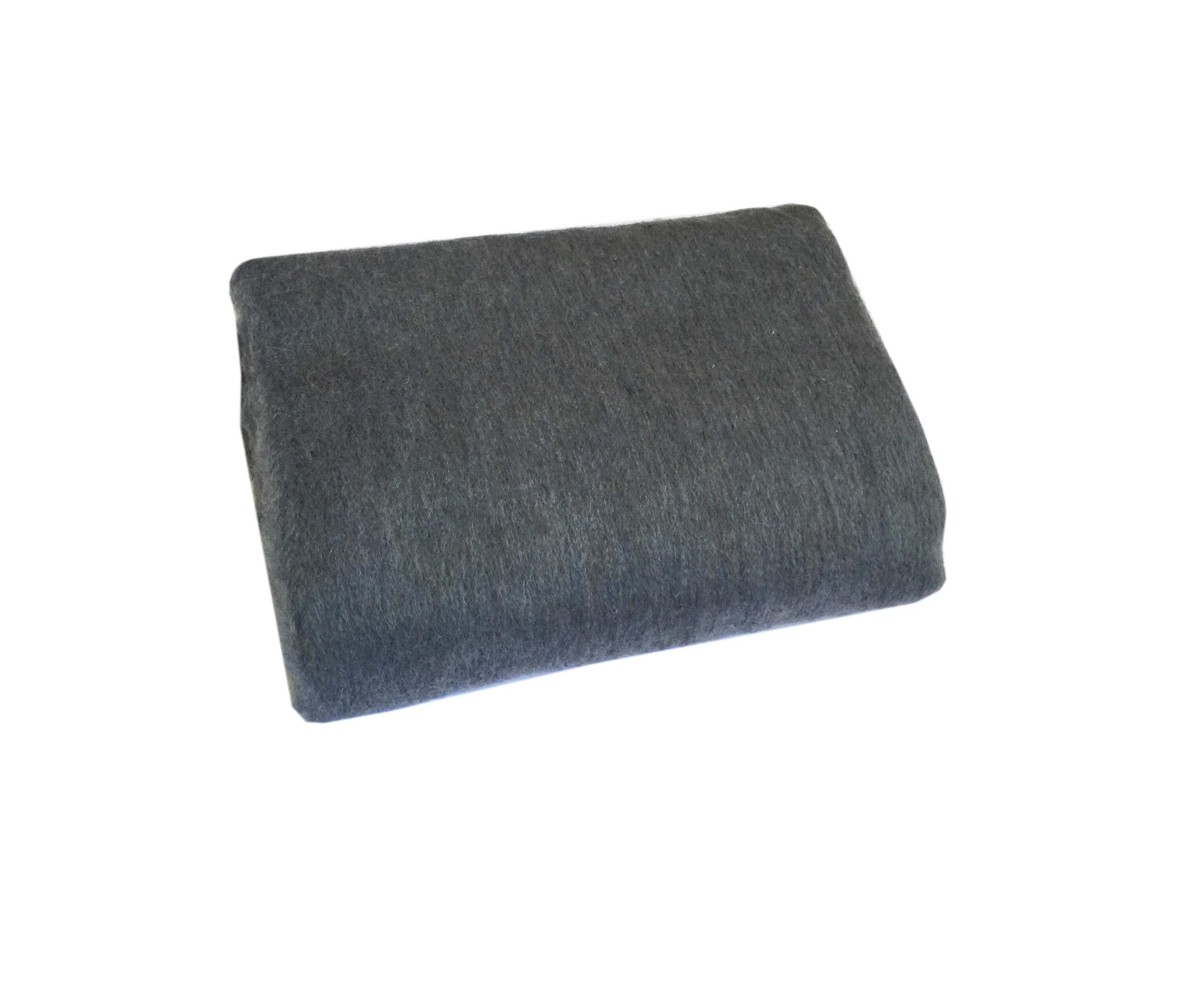 Одеяло полушерстяное 1,5-спальное. Плотность 700 г/м2 (Серо-голубой)