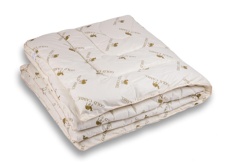 Одеяло верблюжья шерсть 1,5-спальное (300) тик