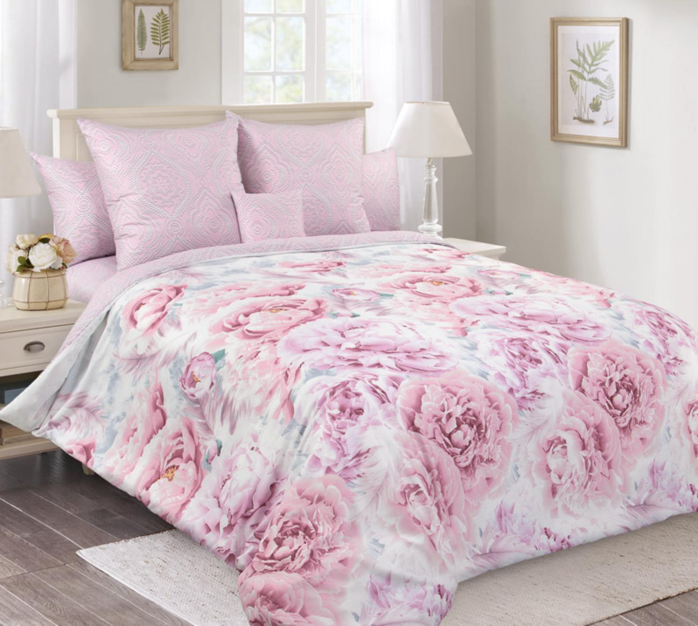 Комплект постельного белья зима-лето, 1,5-спальный перкаль (Рапсодия)