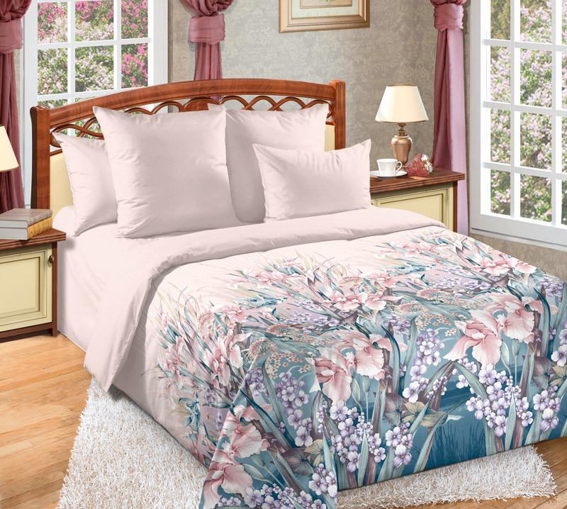 Комплект постельного белья зима-лето, 2-спальный перкаль (Ненаглядная)